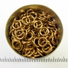 Saw-cut brass, 1.6x6.6 mm, 100 rings