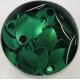Groene aluminium schubben, klein