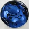 Blauwe aluminium schubben, klein