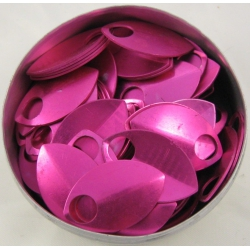Pink aluminium scales, small