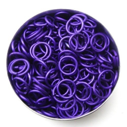 Purple aluminium, 1.2x6.6 mm