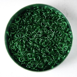 Green aluminium, 0.8x3.4mm