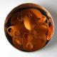 Oranje aluminium schubben, klein