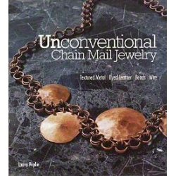 Unconventional Chain mail jewelry, Laura Poplin