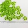 Grasgroene ringkralen, 10mm, 10 stuks