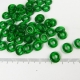 Smaragdgroene ringkralen, 10mm, 10 stuks