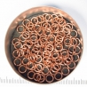 Saw-cut copper, 1.0x4.1 mm, 100 rings