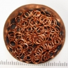 Saw-cut copper, 1.2x5.8 mm, 100 rings