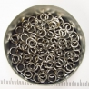 Saw-cut stainless steel, 1.2x4.1 mm, 100 rings