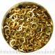 Goldtoned aluminium, 1.2x5.0 mm, square wire
