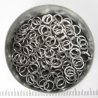 Saw-cut stainless steel, 1.2x5.0 mm, 100 rings