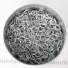 Mat zilverkleurig aluminium, 0,8x4,2 mm