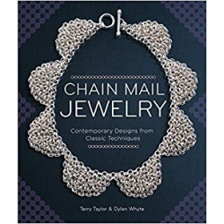 Chain mail jewelry, by Terry Taylor&Dylon Whyte
