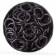 Black stainless 1.6x10.0 mm, 100 rings